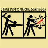 this is a donkey punch